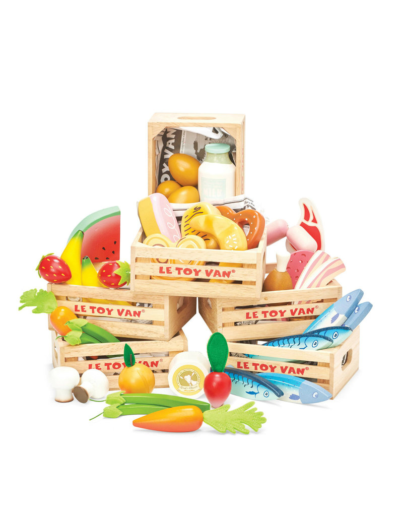Le Toy Van Fresh Fruits Crate
