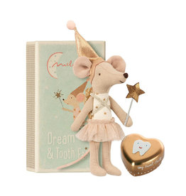 Maileg Mouse Tooth Fairy with metal box
