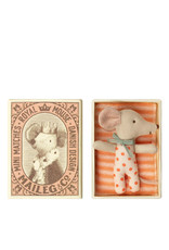 Maileg Baby mouse in a matchbox - Girl