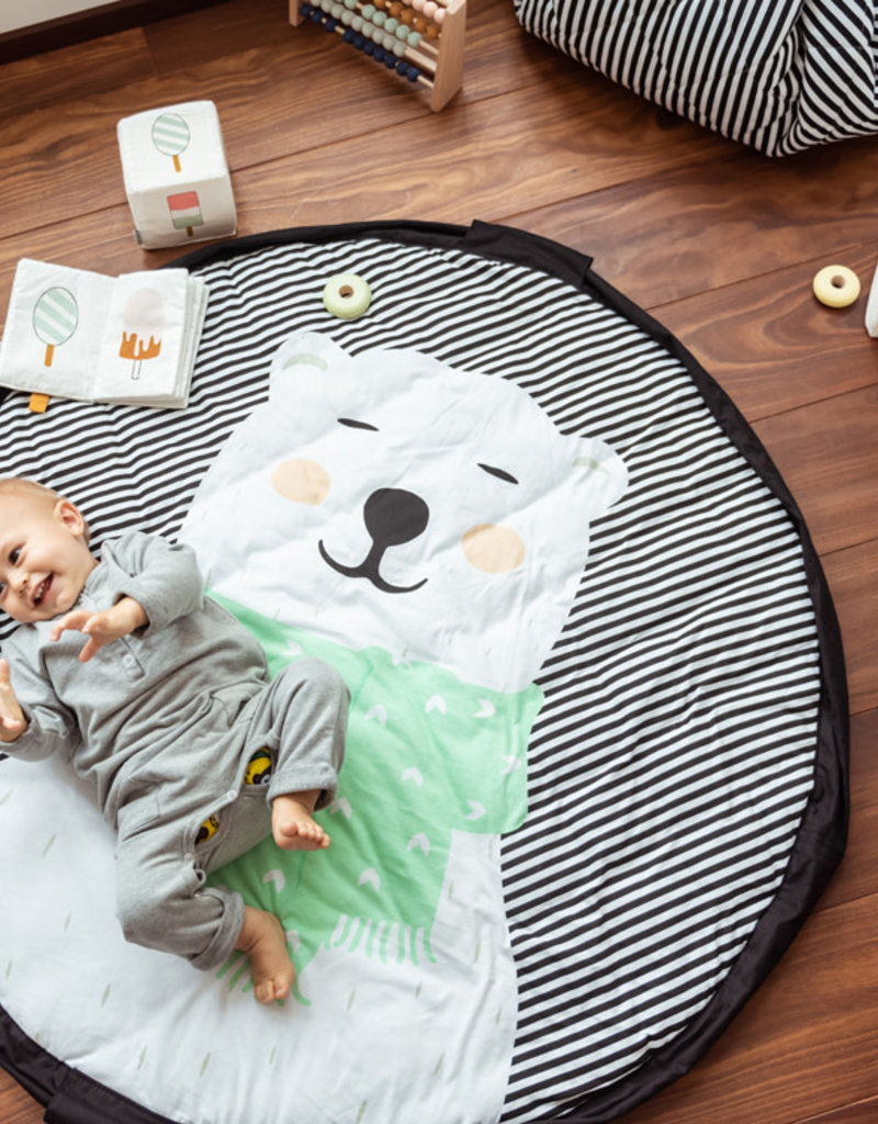 Play and Go Baby Play mat and Storage Bag - Polar Bear