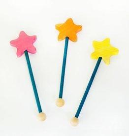 Atelier Cheval de bois Wooden Star wand