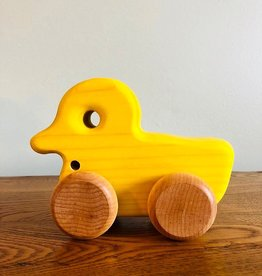 Atelier Cheval de bois Yellow Duck - Wood