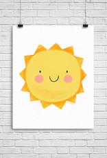 Julie Cossette Illustrations Illustration - Soleil heureux - 8 x 10