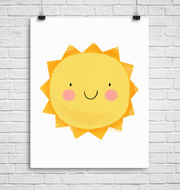 Julie Cossette Illustrations Illustration - Soleil heureux - 8 x 10