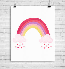 Julie Cossette Illustrations Illustration - Arc-en-ciel - 8 x 10
