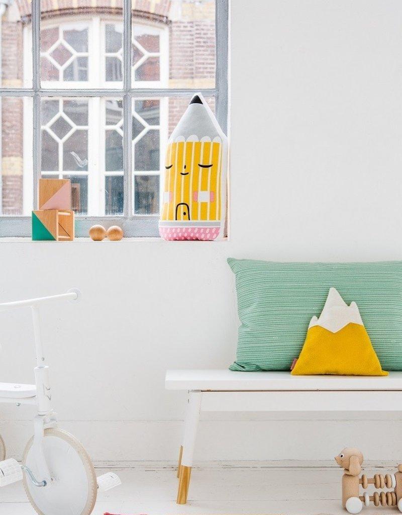 Petit Monkey Coussin décoratif - Crayon Maison