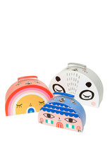 Petit Monkey Double face suitcase set
