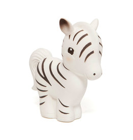 Petit Monkey Rubber toy - Zebra