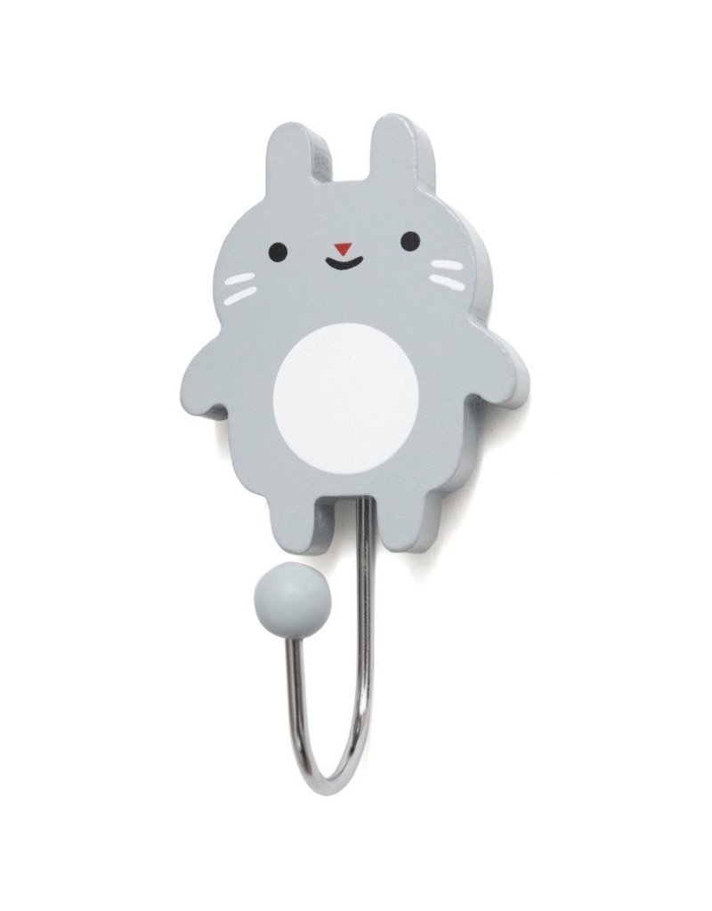 Petit Monkey Hook - Little bunny grey