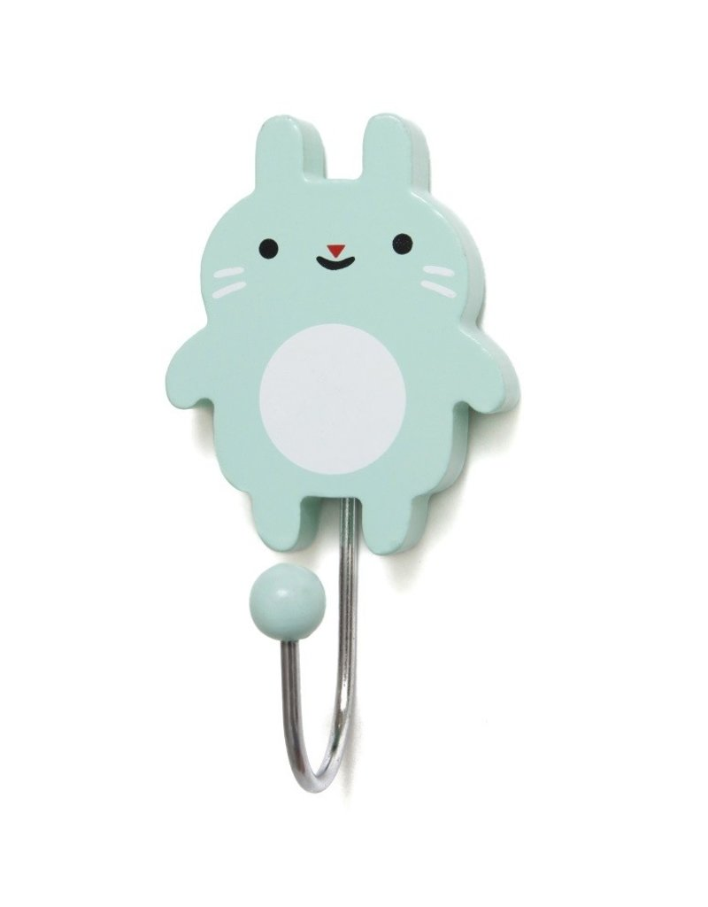 Petit Monkey Hook - Little bunny mint