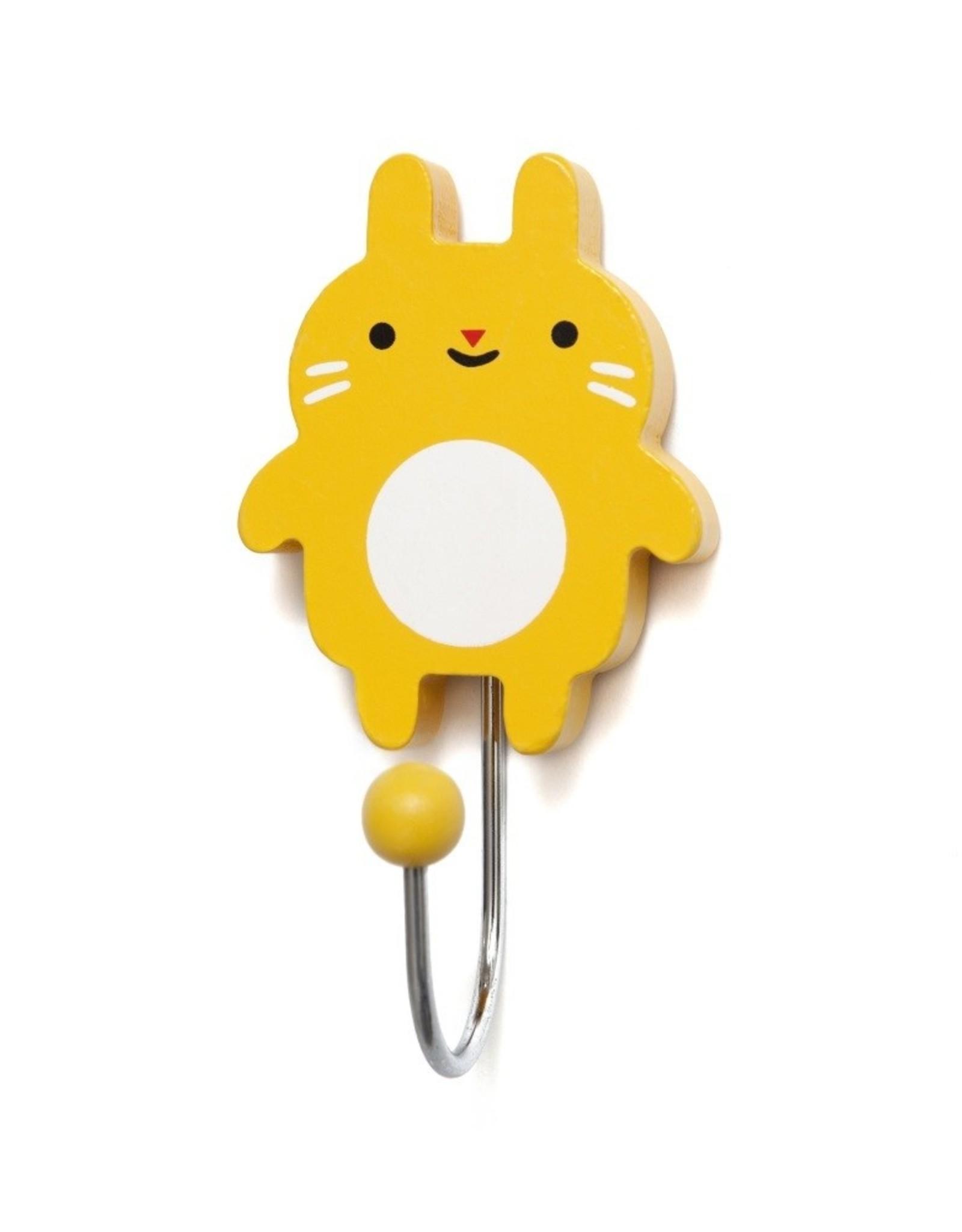 Petit Monkey Crochet décoratif - Petit lapin jaune