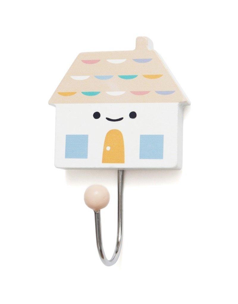 Petit Monkey Crochet décoratif - Petit maison pêche
