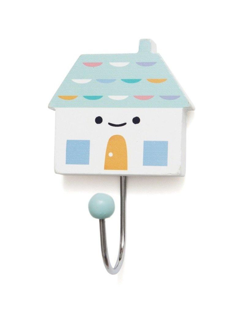 Petit Monkey Crochet décoratif - Petite maison turquoise