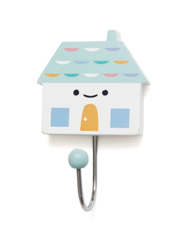 Petit Monkey Hook - Little house aqua