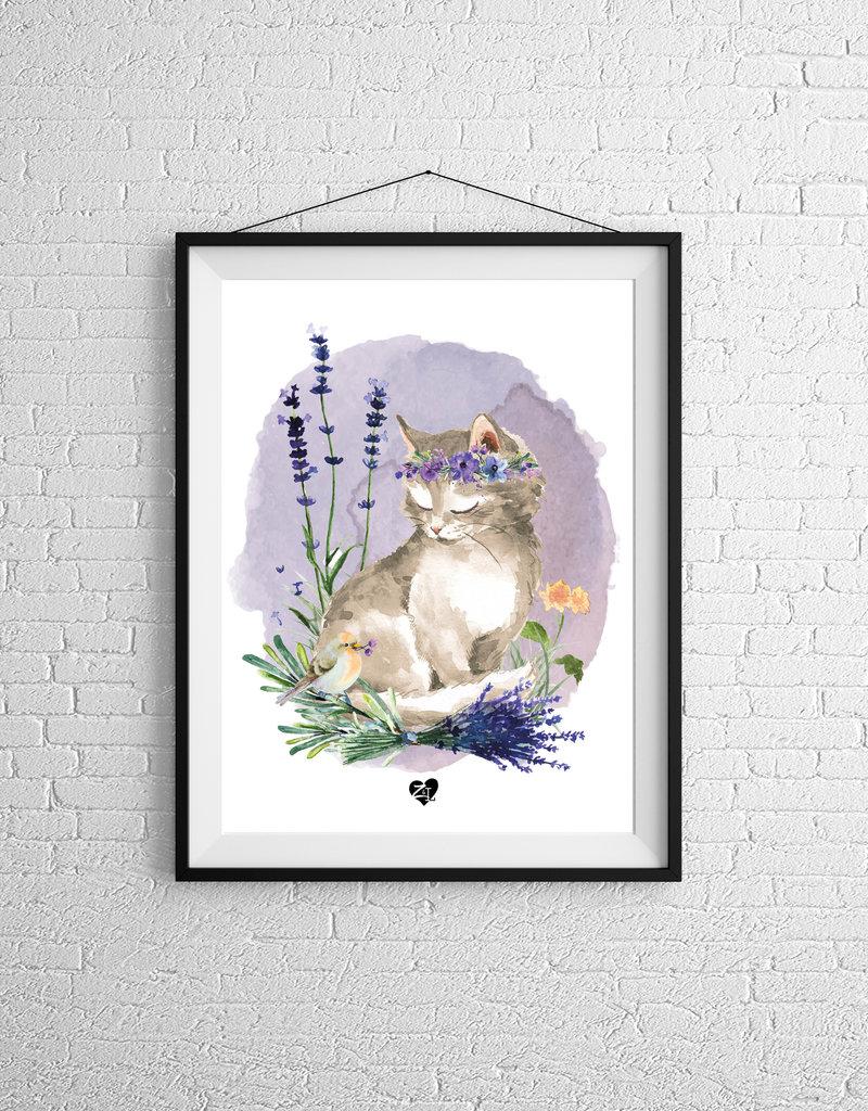 Zack et Livia Illustration - Cat