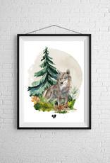 Zack et Livia Illustration - Wolf