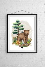 Zack et Livia Illustration - Bear