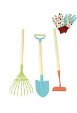 Vilac Grands outils de jardinier en métal