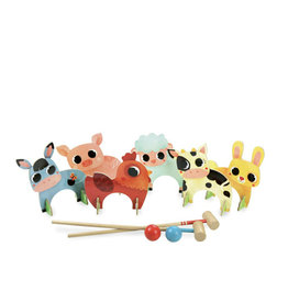 Vilac Croquet game - Farm animals