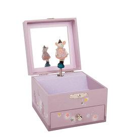 Moulin Roty Boîte à bijoux musicale - Léger défaut - Petite souris