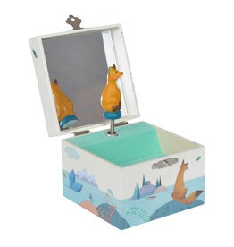 Moulin Roty Musical jewelry box - Fox
