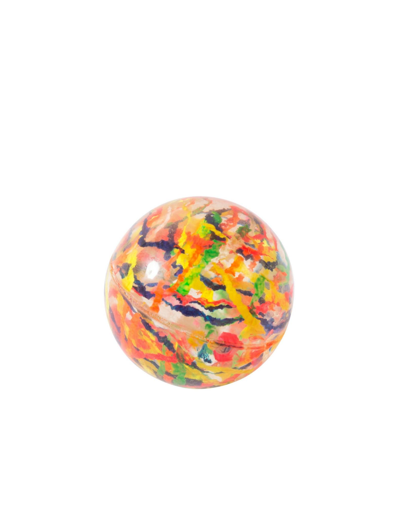 Moulin Roty Bouncy Ball - Orange Blue Green