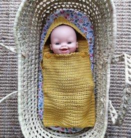 Monamigurumi Gigoteuse pour poupée tricotée à la main