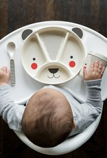 Petit Collage Baby Bamboo Dinnerware - Bear
