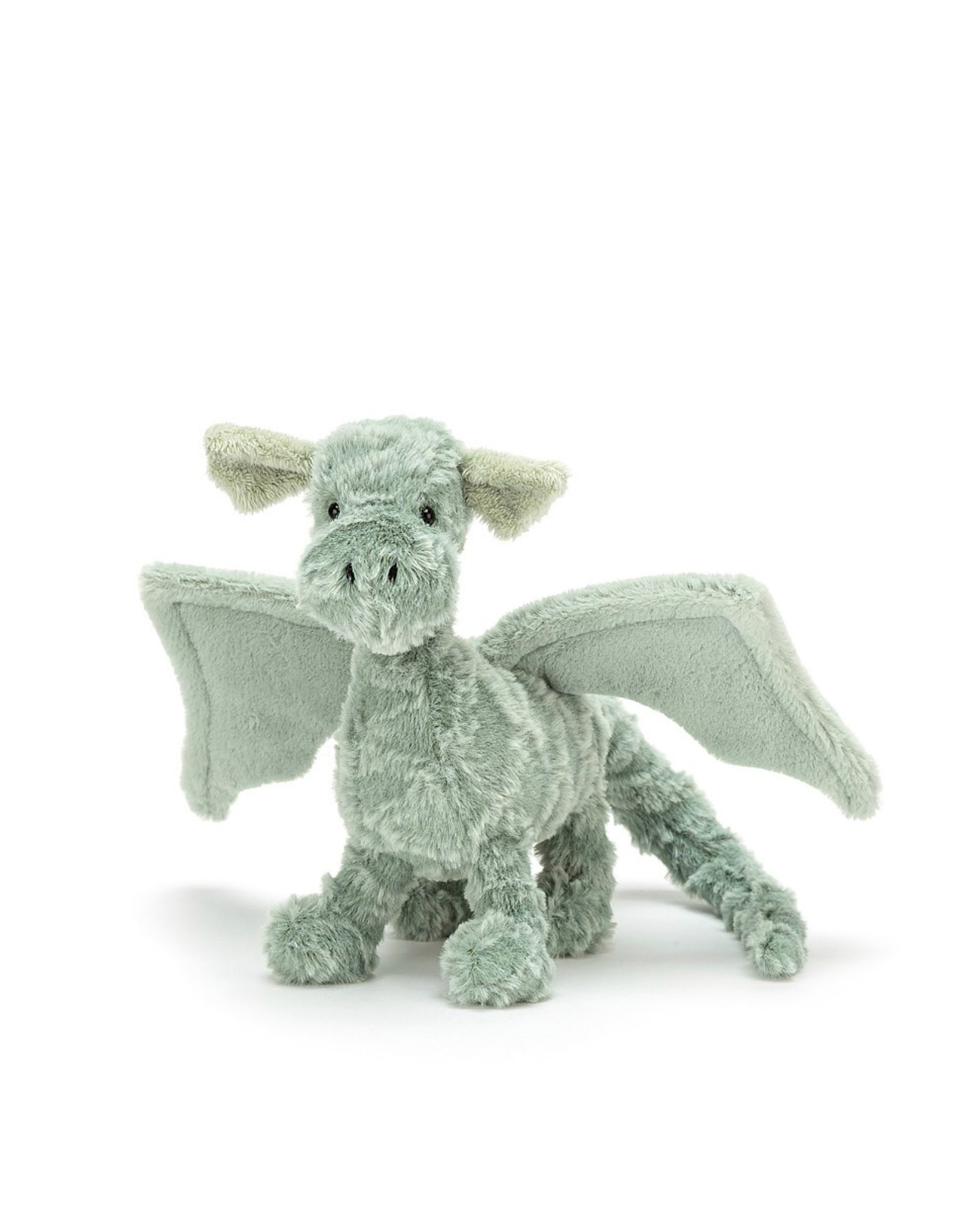 Jelly Cat Peluche Dragon vert - Petit