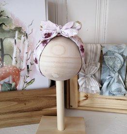 Belle des bois Bandeau à nouer en tissu - Fleur