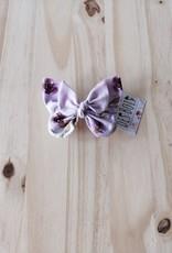 Belle des bois Barette Papillon en métal : Fleur