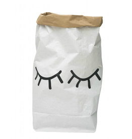 Tellkiddo Storage Paper Bag - Sleeping eyes