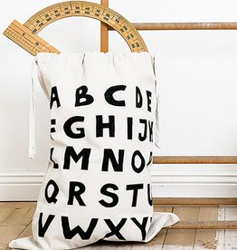 Tellkiddo Storage fabric bag - Alphabet