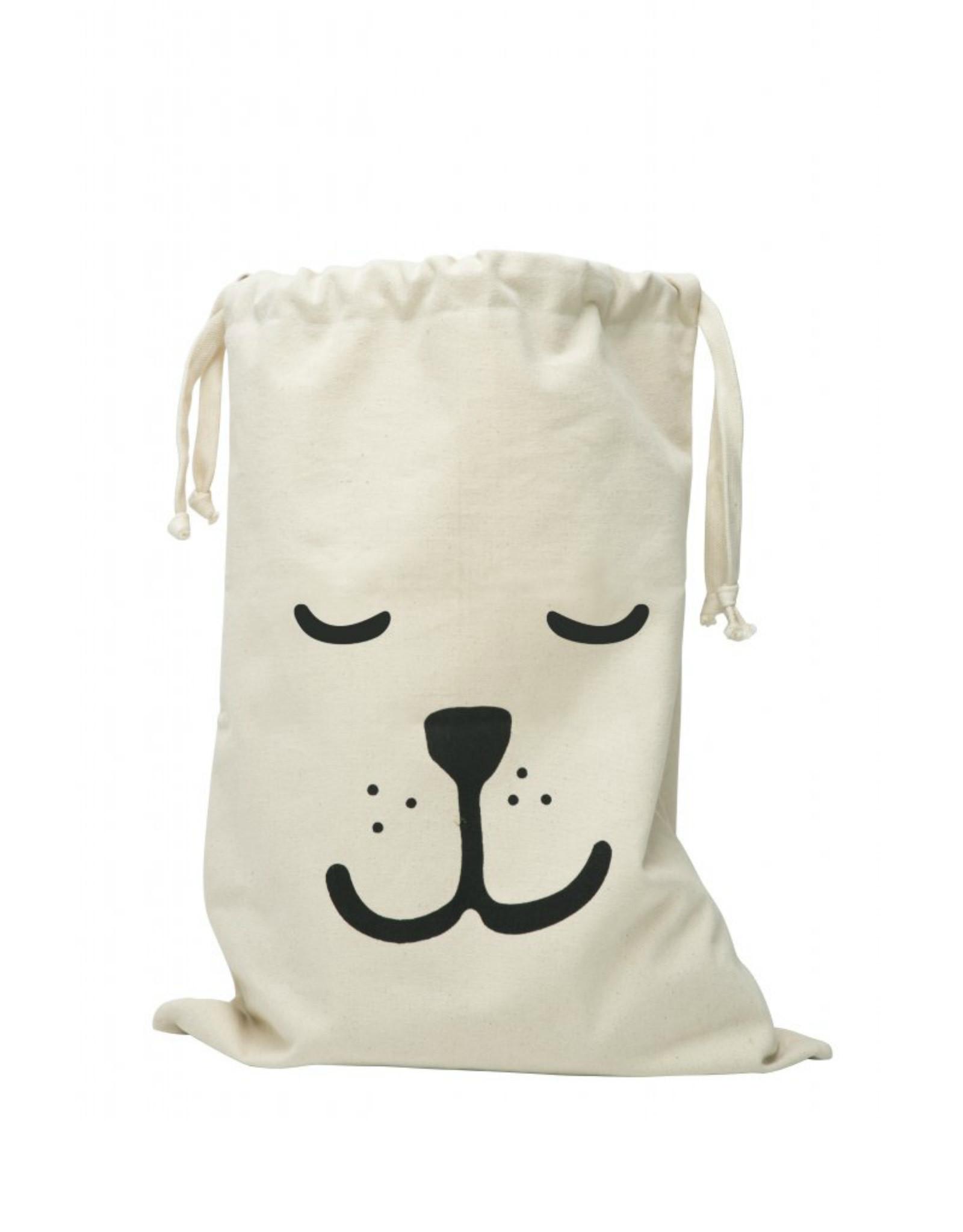 Tellkiddo Storage fabric bag - Sleeping bear