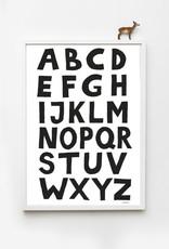 Tellkiddo Illustration Alphabet - Format A4