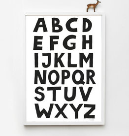 Tellkiddo Illustration Alphabet - Size A4