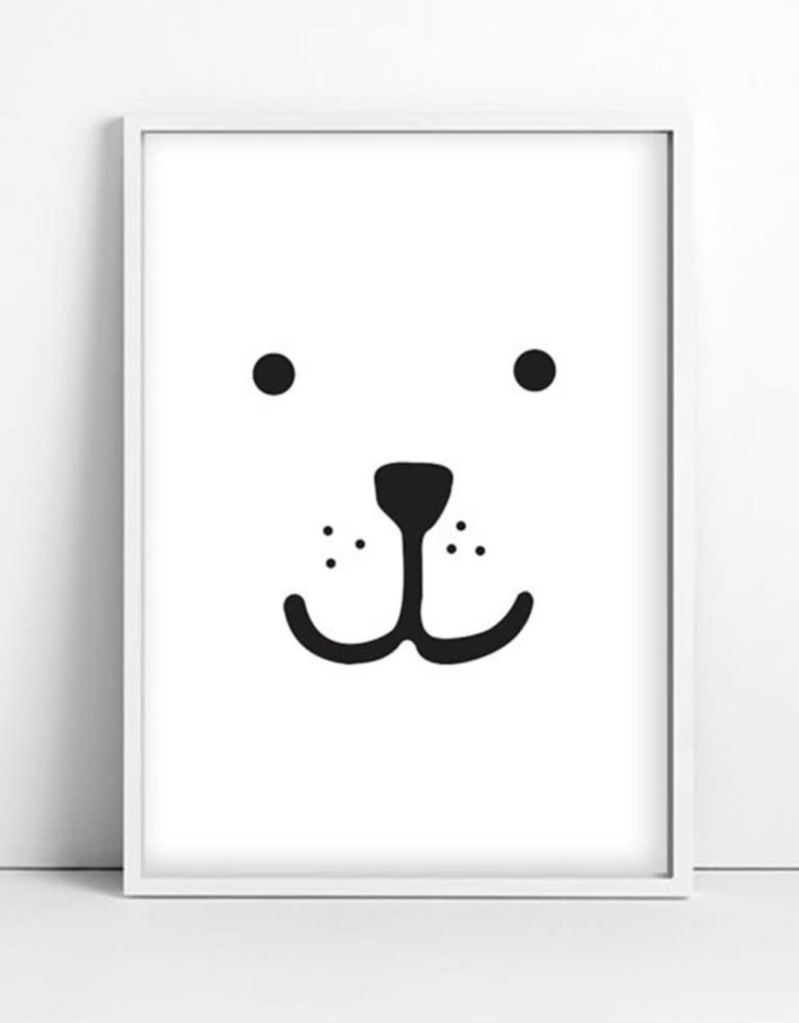 Tellkiddo Illustration Bear - Size A4