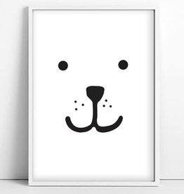 Tellkiddo Illustration Bear - Size A4