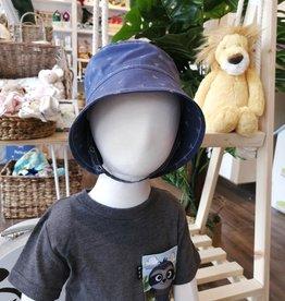 Tirigolo Chapeau ajustable - Bleu et blanc - 2-3 ans