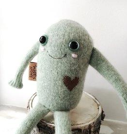 Raisin Diadem Peluche en tricot de laine - Grenouille