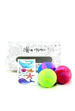 Efferv'essence Box of 3 Effervescent Bombs - Random Colors and Flavors