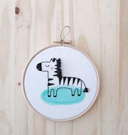 Ale Hoop Wall decoration - Zebra