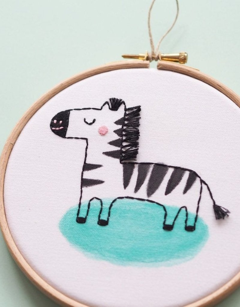 Ale Hoop Wall decoration - Zebra