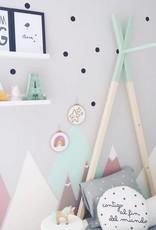 Ale Hoop Décoration murale - Arc-en-ciel pastel