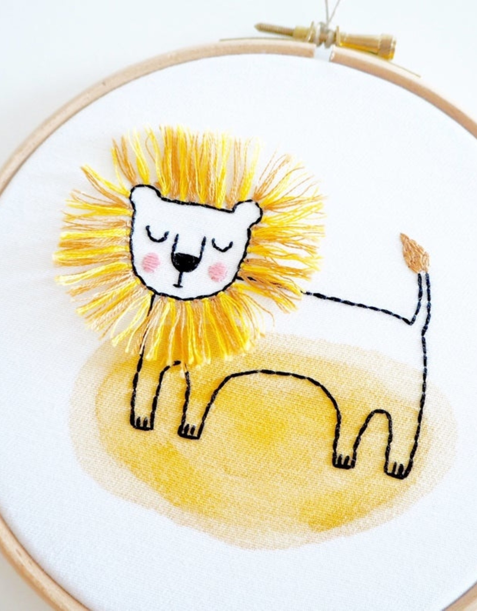 Ale Hoop Wall decoration - Lion