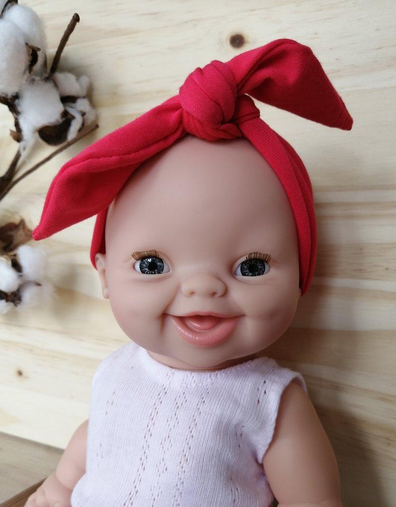 Paola Reina Bandeau pour poupée Paola Reina - Boucle Rose corail