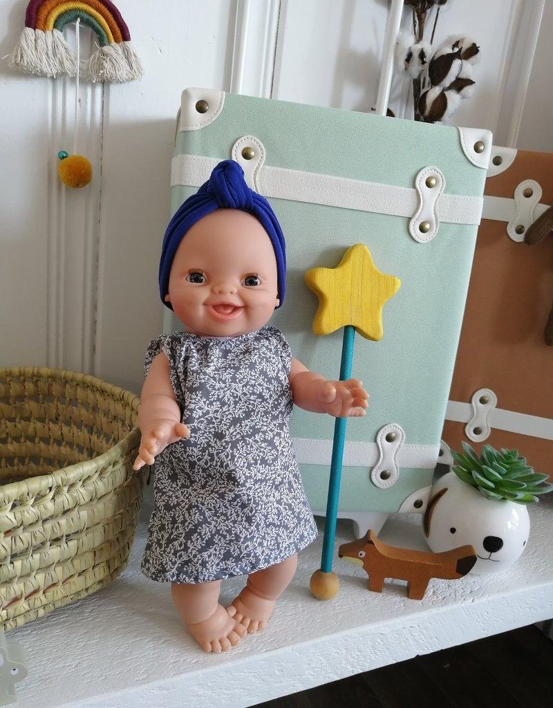 Paola Reina Robe pour poupée Paola Reina - Grise