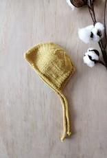 Paola Reina Bonnet tricoté à la main - Moutarde