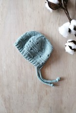 Paola Reina Bonnet de poupée tricoté à la main - Turquoise