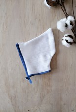 Paola Reina Capine en tissu - Blanc et bleu